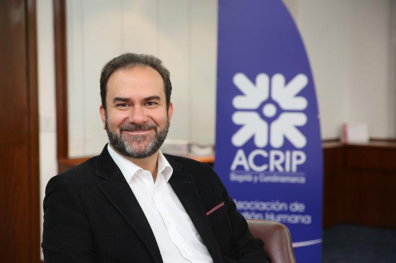 Mario Plata es el nuevo director de Acrip Bogotá