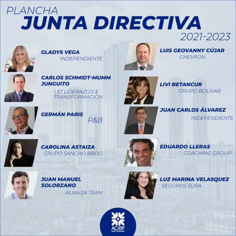 Plancha Junta Directiva 2021 -2023