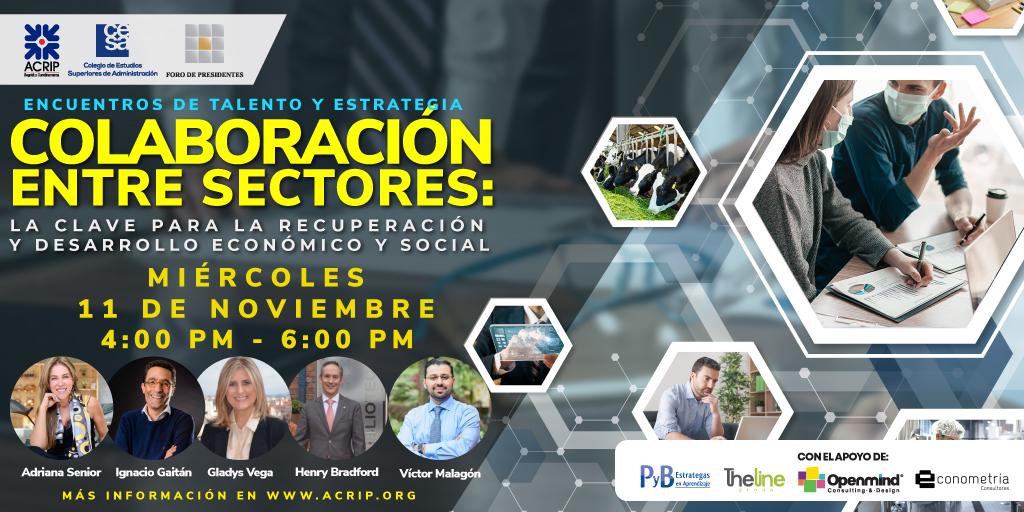 Encuentros de Talento y Estrategia-COLABORACIÓN ENTRE SECTORES_ La clave para el desarrollo económico y social