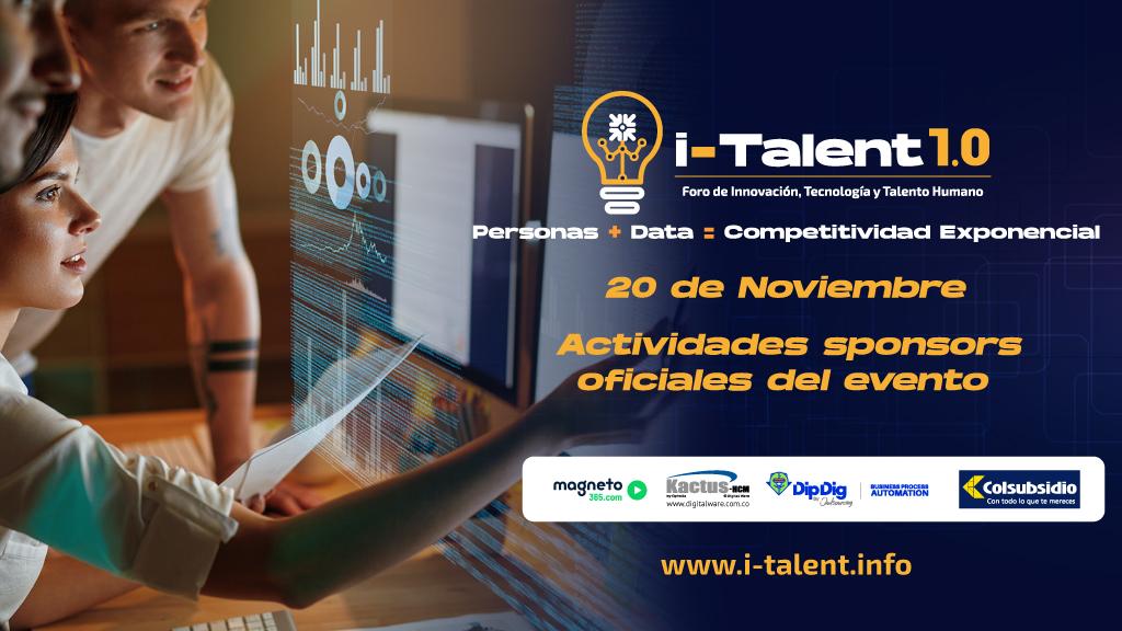 Capacitación plataforma i-Talent 1.0. Personas + Data= Competitividad Exponencial