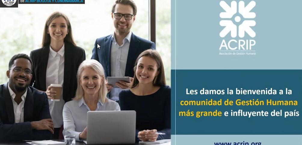 Lanzamiento oferta de valor ACRIP 2021